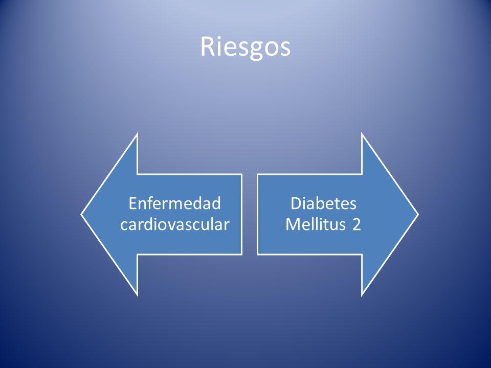 Riesgos Enfermedad cardiovascular Diabetes Mellitus 2
