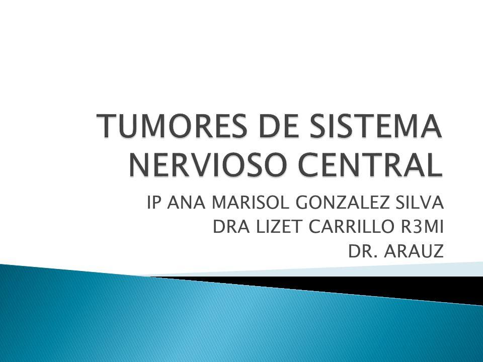 Neoplasias que surgen de las células que forman el Sistema Nervioso Central.