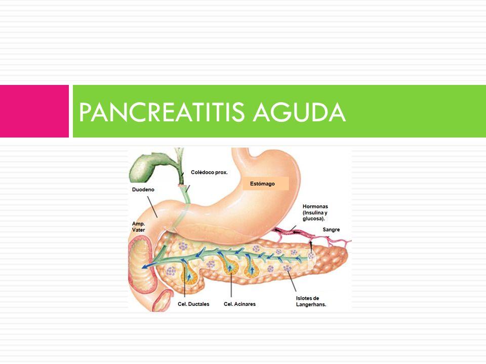 CRITERIOS GLASGOW LEDESMA-HEYER J y ARIAS J. Pancreatitis aguda. Med Int Mex 2009;25(4):285-94.