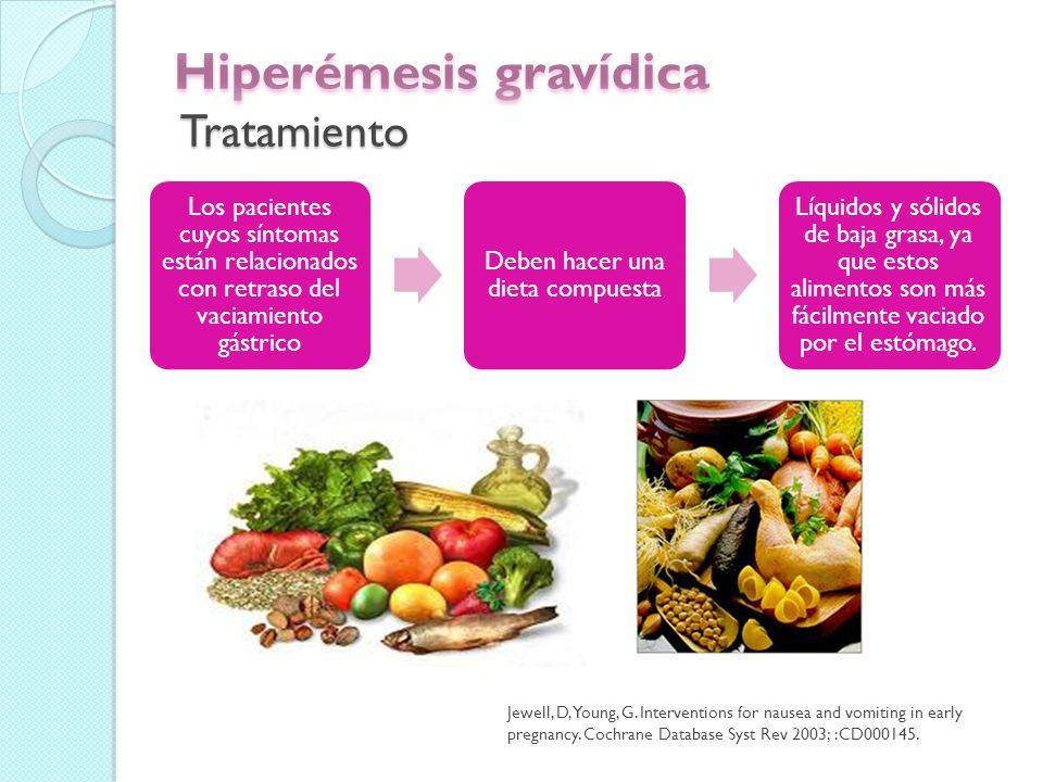 El estado nutricional y los métodos de alimentación (por ejemplo, alimentación por sonda, nutrición parenteral) debe evaluarse en conjunto con un nutricionista o un servicio de nutrición.