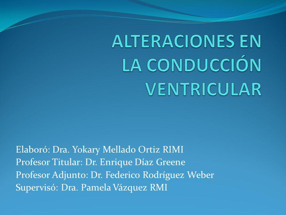 Elaboró: Dra. Yokary Mellado Ortiz RIMI Profesor Titular: Dr. Enrique Díaz Greene Profesor Adjunto: Dr. Federico Rodríguez Weber Supervisó: Dra. Pamel