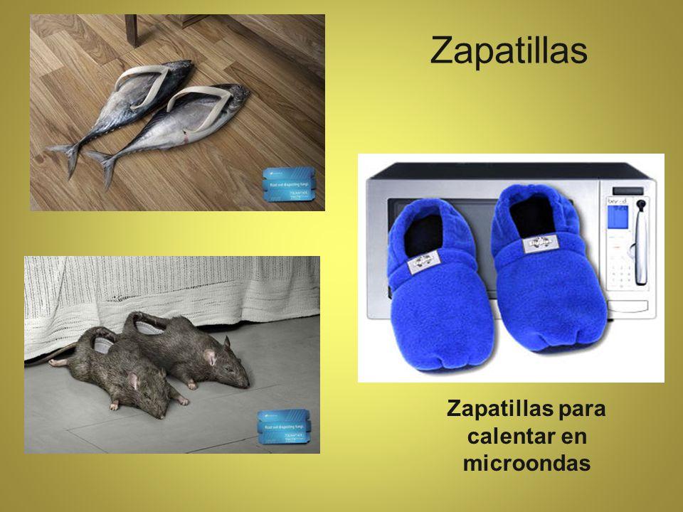 Zapatillas Zapatillas para calentar en microondas