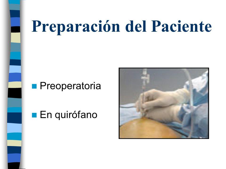 Post-Operatorio Sonda vesical Drenaje abdominal Medicación Movilización precoz Alta