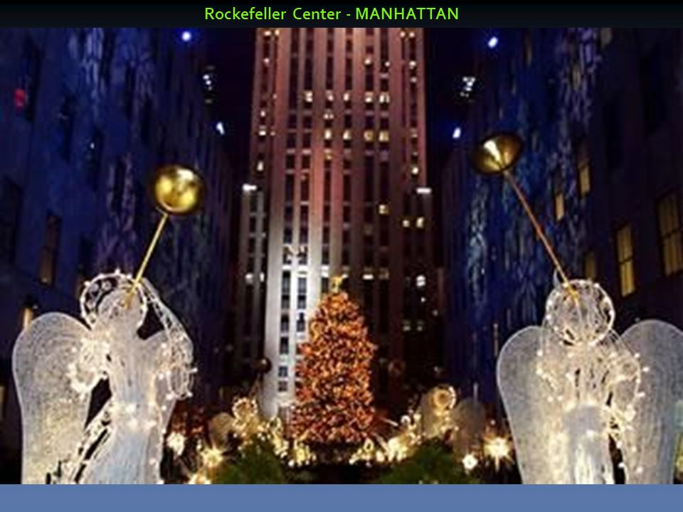 Rockefeller Center - MANHATTAN