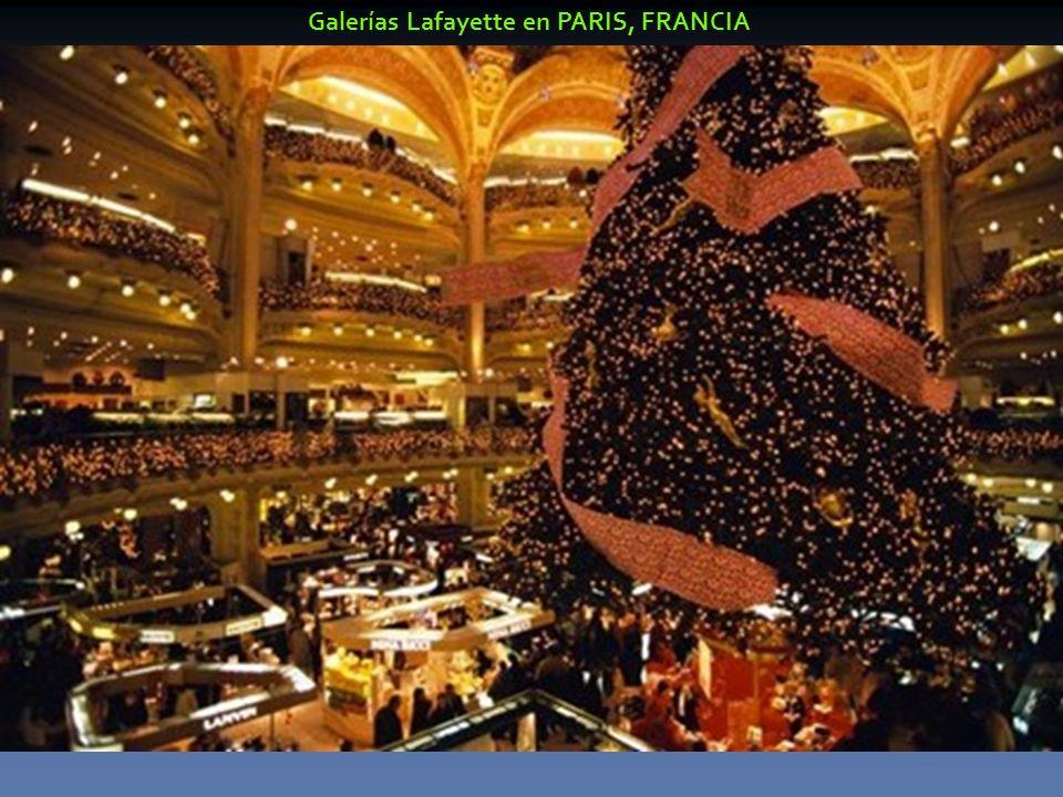 Galerías Lafayette en PARIS, FRANCIA