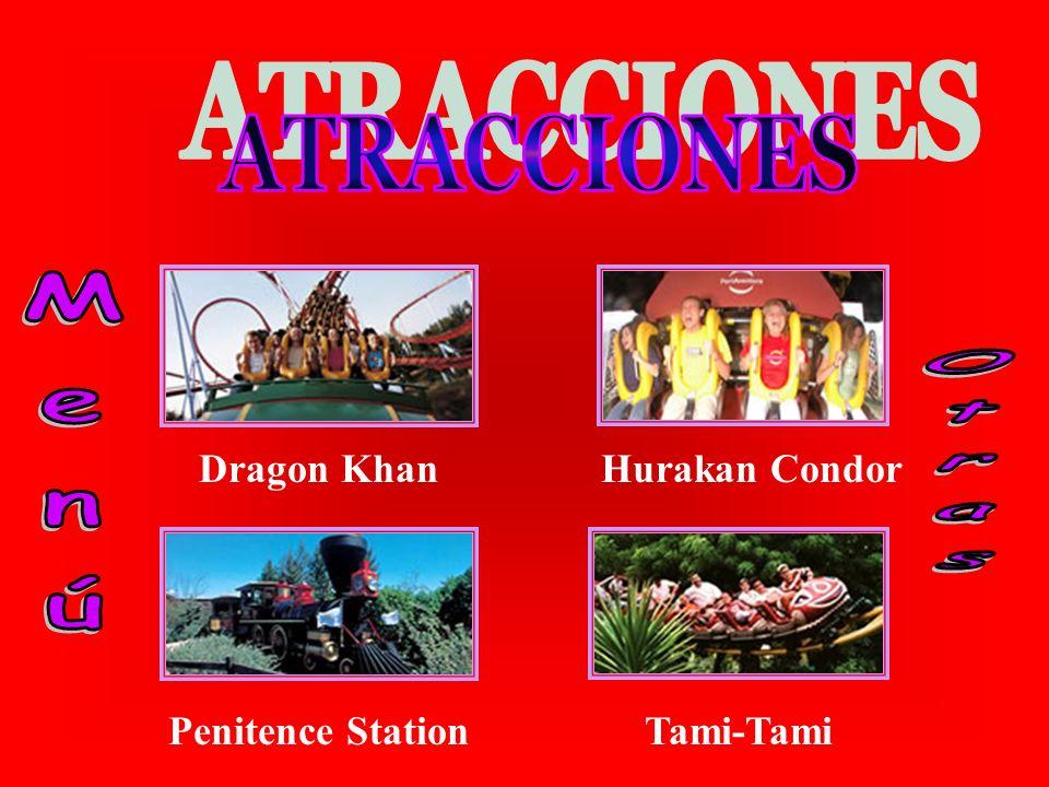Dragon Khan Penitence Station Hurakan Condor Tami-Tami