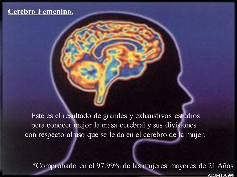 Cerebro Femenino.