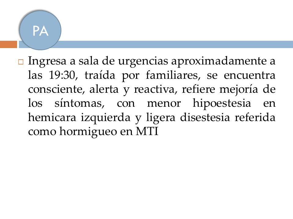 Causas (1) Afección de grandes vasos Ateroesclerosis prematura Disección carótida o vertebral Displasia fibromuscular Moya-moya Takayasu Radioterapia Homocistinuria Afección de pequeños vasos Hipertensión Migraña