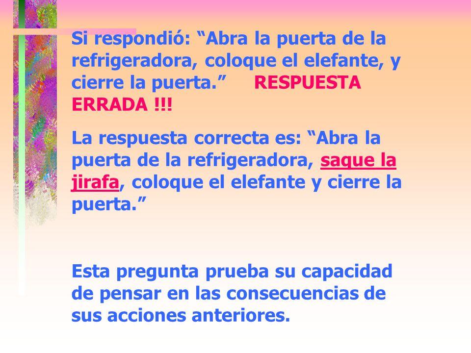 PERGUNTA 3: EL REY DE LA SELVA, EL LEON, HA ORGANIZADO UNA FIESTA EN LA JUNGLA.