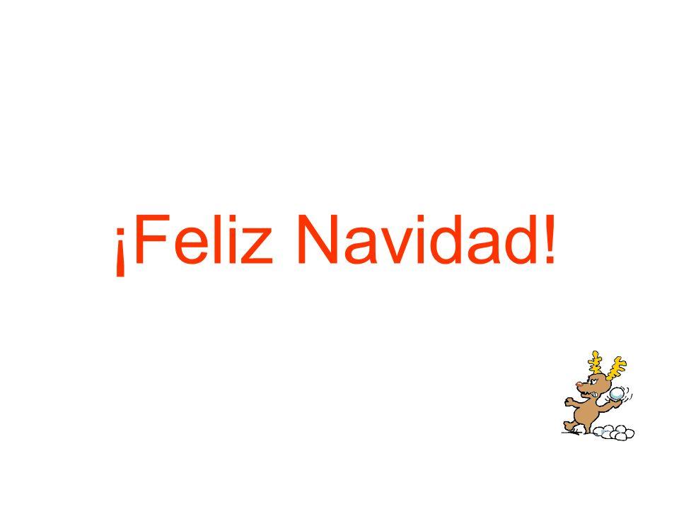 ¿Soy el primero en felicitarte las Navidades