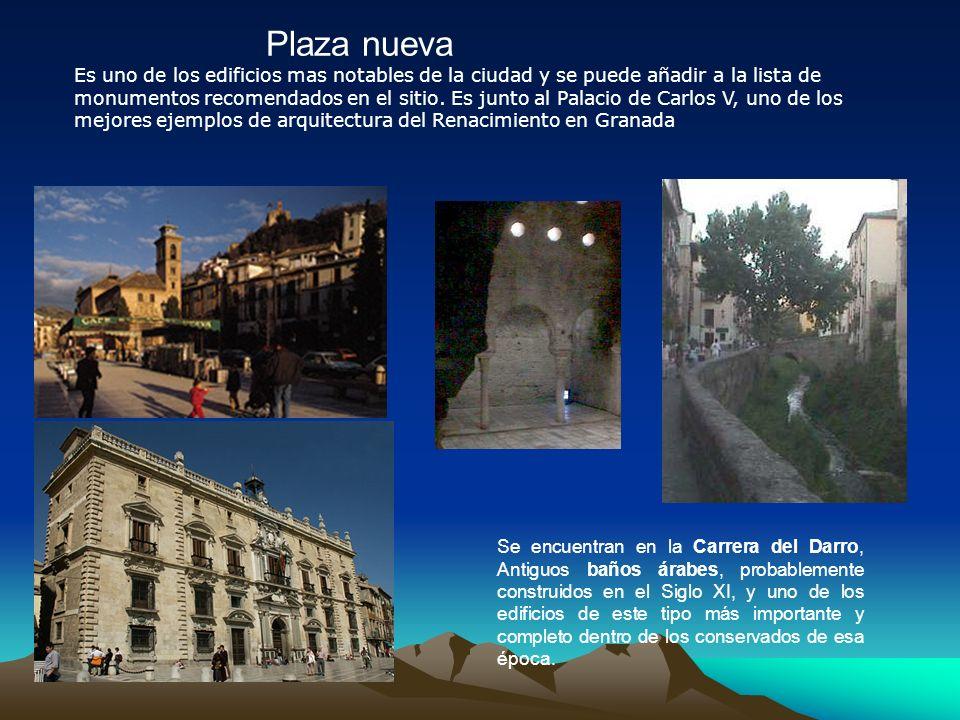 Plaza nueva Es uno de los edificios mas notables de la ciudad y se puede añadir a la lista de monumentos recomendados en el sitio.