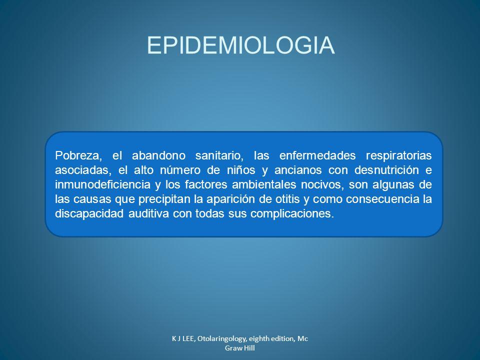 EPIDEMIOLOGIA Pobreza, el abandono sanitario, las enfermedades respiratorias asociadas, el alto número de niños y ancianos con desnutrición e inmunode