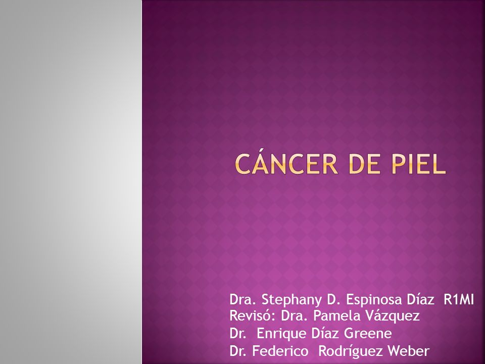 Registro Nacional de las Neoplasias en México el cáncer de piel desde hace algunos años ocupa el 1° lugar en hombres y en mujeres el 3° lugar.