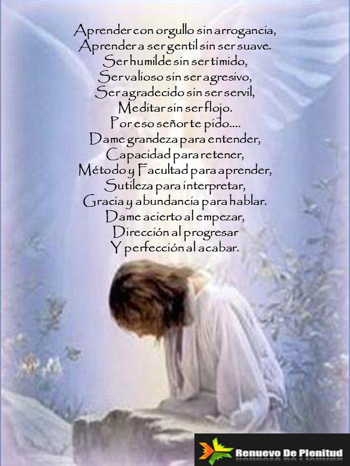 Padre nuestro que estás en los cielos santificado sea tu nombre venga a nosotros tu reino, hágase tu voluntad aquí en la Tierra como en el cielo.