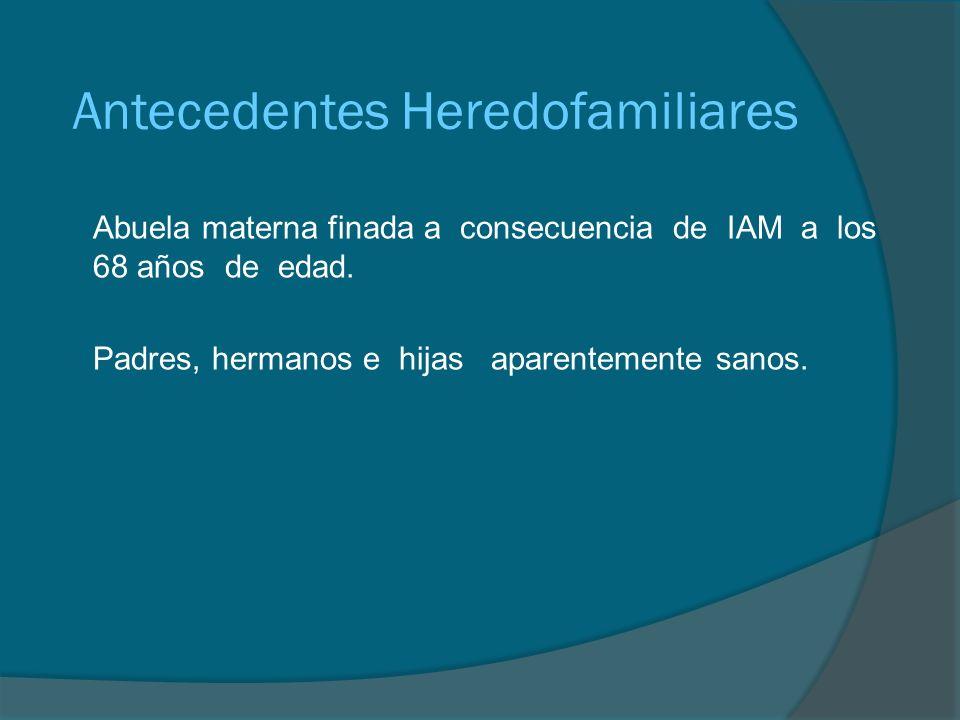 Antecedentes Personales No Patológicos Habitación: Casa en área urbana que cuenta con todos los servicios intra y extradomiciliarios.