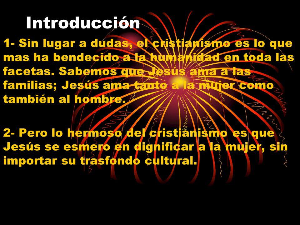 Introducción 1- Sin lugar a dudas, el cristianismo es lo que mas ha bendecido a la humanidad en toda las facetas. Sabemos que Jesús ama a las familias