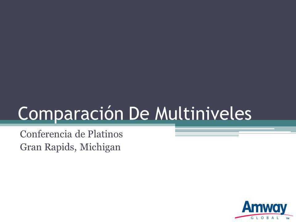 Comparación De Multiniveles Conferencia de Platinos Gran Rapids, Michigan