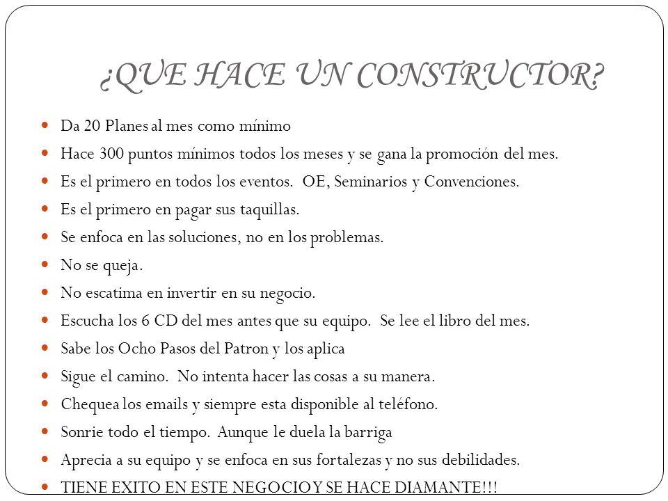 ¿QUE HACE UN CONSTRUCTOR.