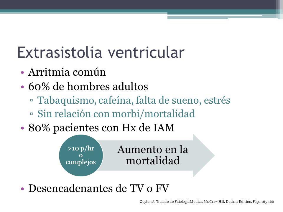 Síndrome de Wolff-Parkinson-White Taquicardia supraventricular paroxística (taquicardia de reentrada del nodo AV) Impulso anterogrado por nodo AV (ortodrómica) QRS estrecho Impulso retrogrado por vía accesoria (antidromica [vía oculta]) QRS ancho (todo onda ) Flutter auricular y Fibrilación auricular Fibrilación ventricular Harrison.
