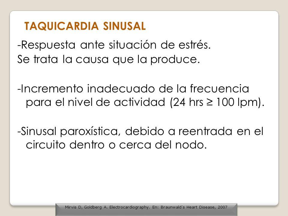 Taquicardia Ventricular Paroxística CRITERIOS 1.Frecuencia Ventricular 140- 200 lpm.