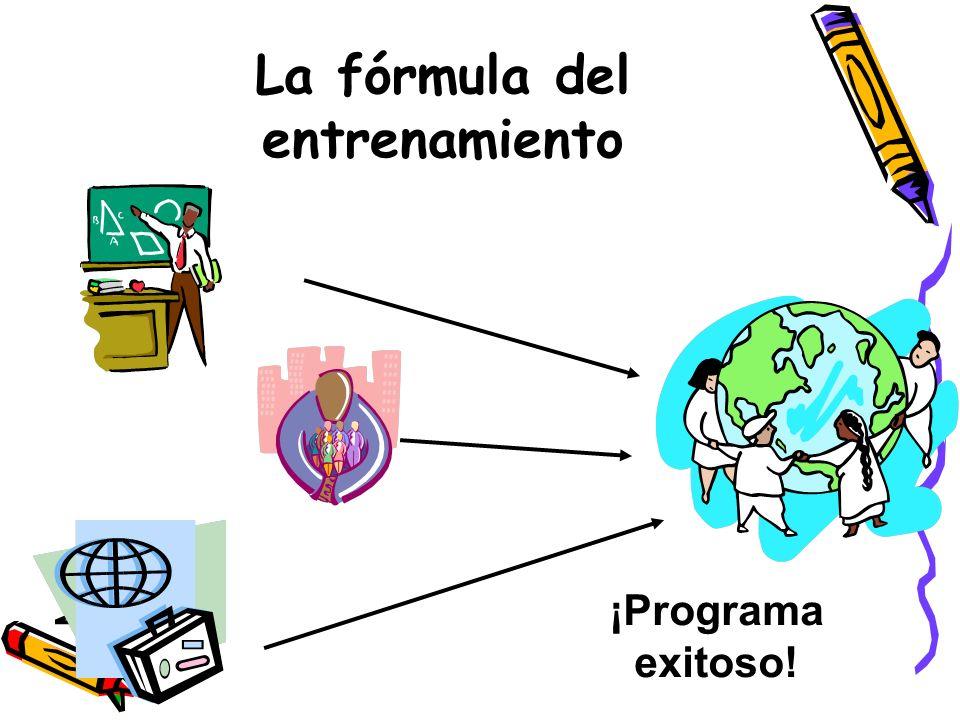 El Contexto FormalLa información justa y precisa Se recluta expertos en las distintas áreas de capacitación Se utiliza un acercamiento modular Se fome