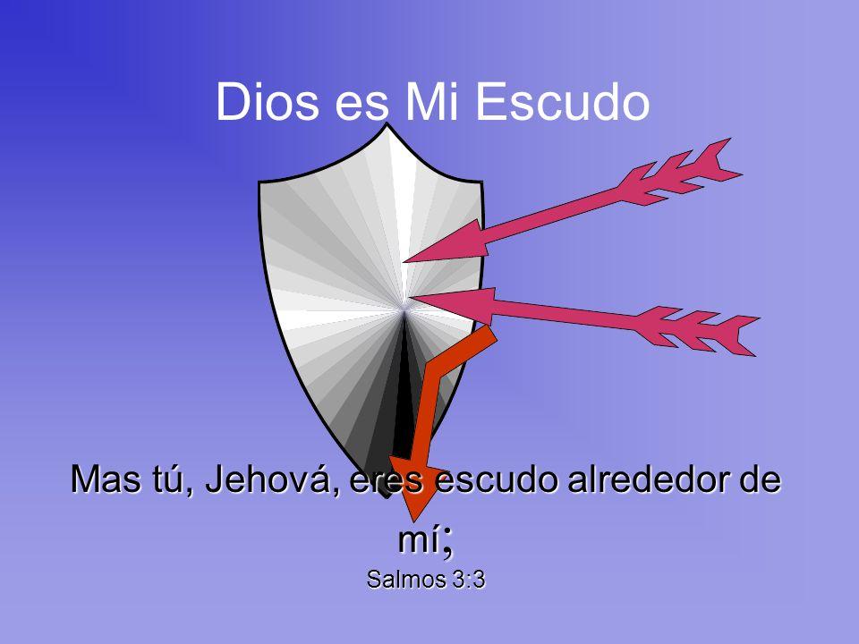 No tengo miedo porque Dios es mi Protector