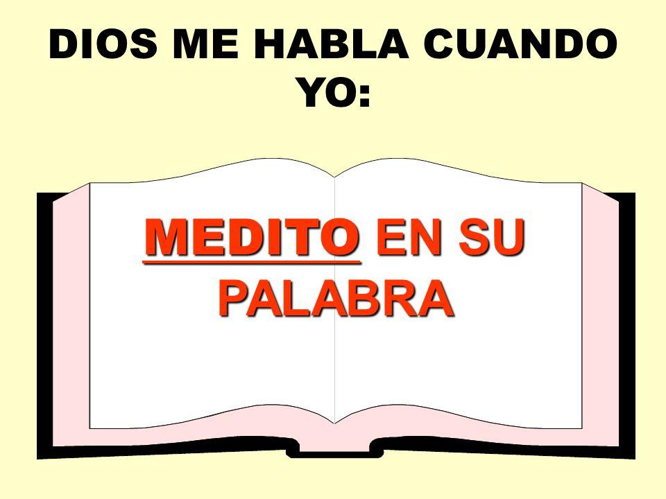 PADRE DIOS BIBLIA DIOS ME HABLA A MI Gozando comunión con mi Padre celestial ORACIÓN YO HABLO CON DIOS