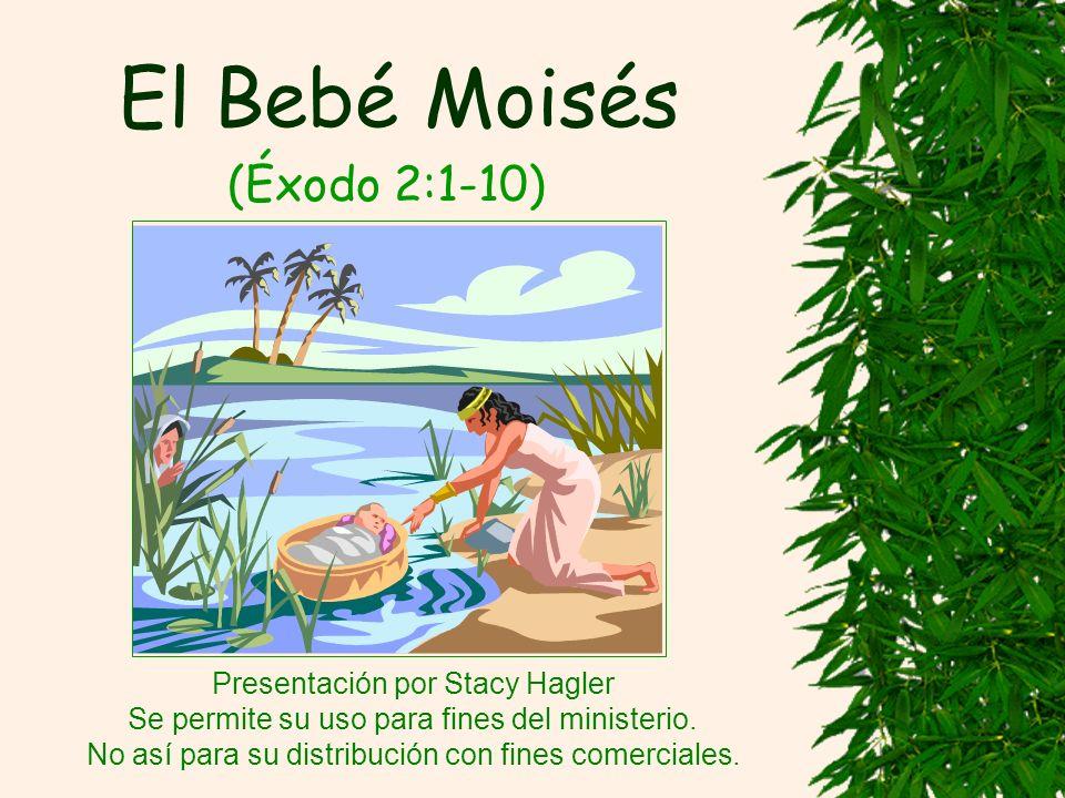 El Bebé Moisés (Éxodo 2:1-10) Presentación por Stacy Hagler Se permite su uso para fines del ministerio.