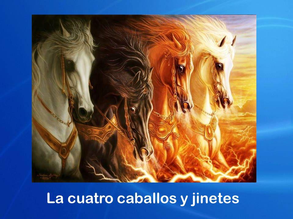 La cuatro caballos y jinetes