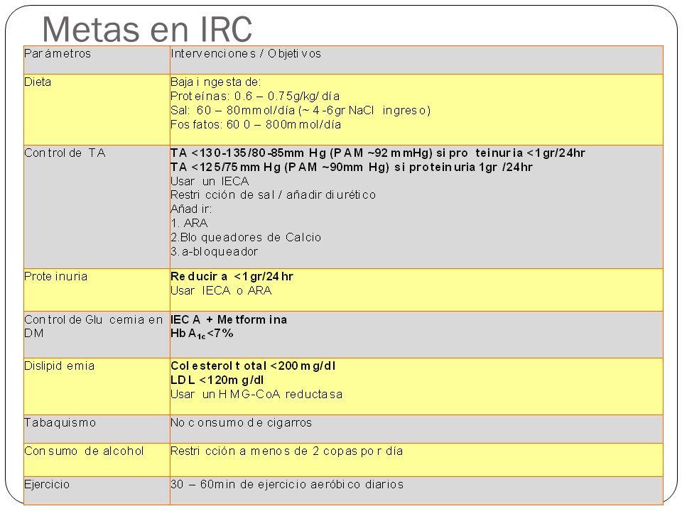 Metas en IRC