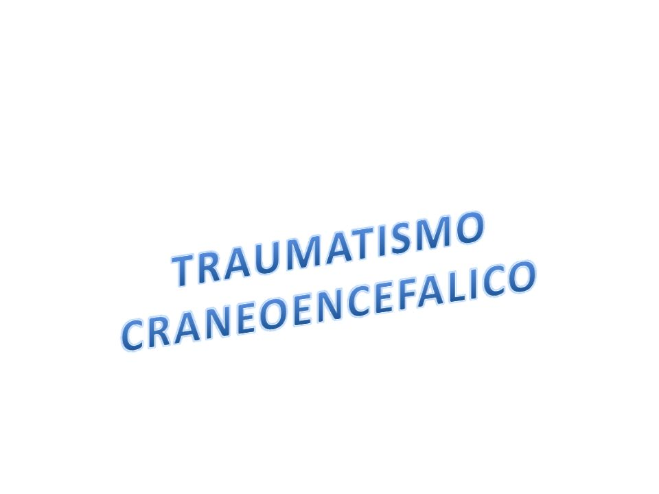 CLASIFICACION CLINICA La clínica observada está relacionada con los daños intracraneales producidos por un TCE, presentándose en un rango de: desde una Discreta cefalea, posterior a un TCE leve, Vómitos Pérdida transitoria de la conciencia Convulsiones Alteración y deterioro del estado de conciencia Focalización neurológica Coma Muerte observada en los TCE severos