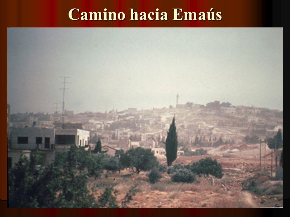 Camino hacia Emaús