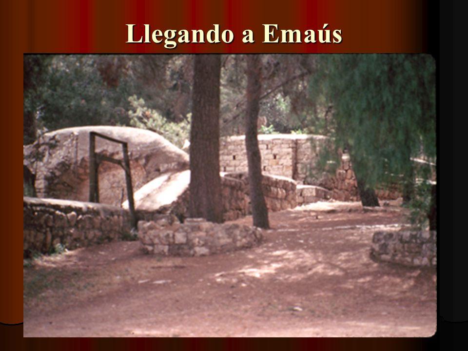 Llegando a Emaús