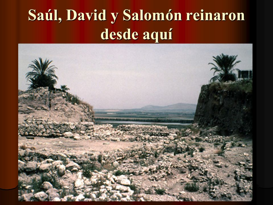 Llegamos a Megiddo