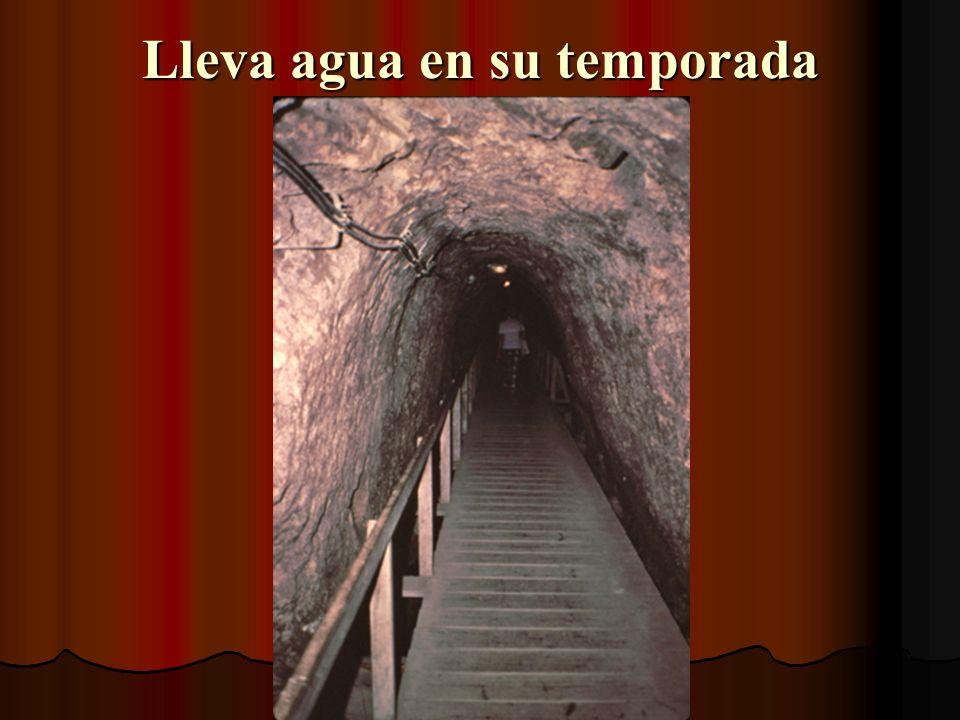 Ahora, pasaremos por un túnel