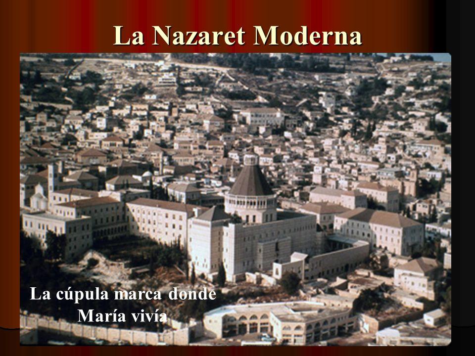 Ahora vamos rumbo a Nazaret
