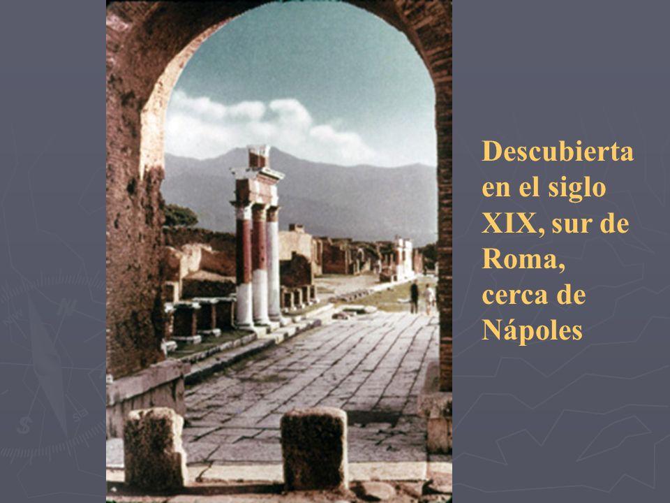 Ahora, una visita a Pompeya