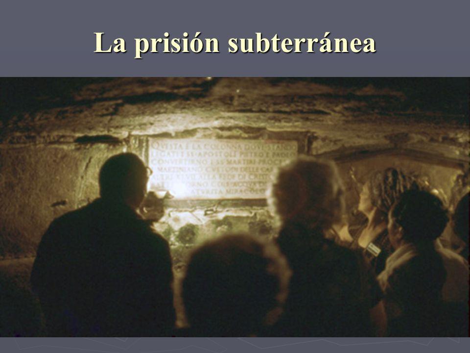 La prisión subterránea