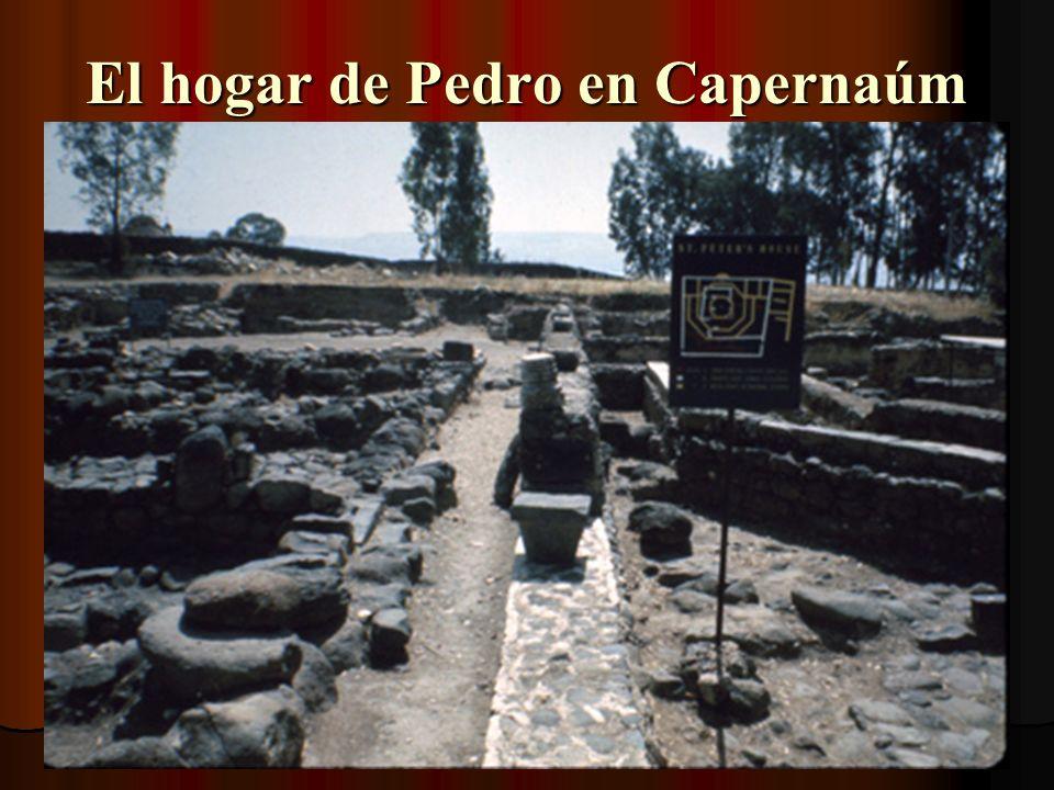 Capernaúm queda en ruinas por la maldición por Jesús en Mt. 11:23-24