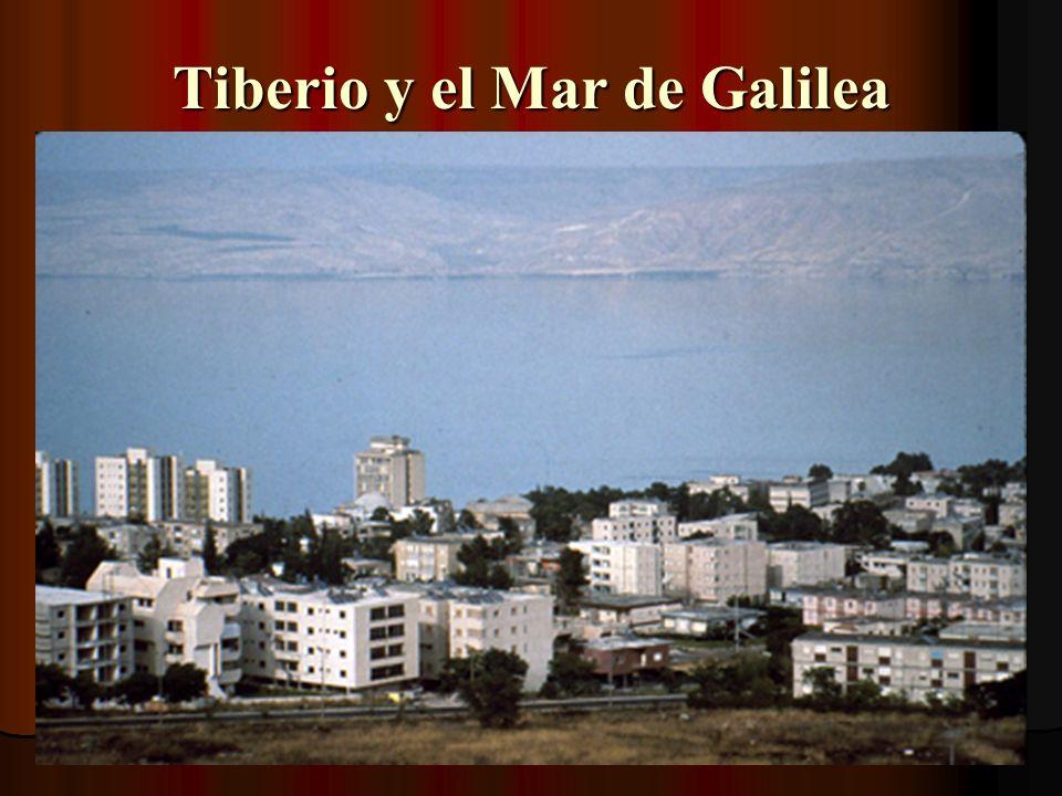 Tiberio y el Mar de Galilea