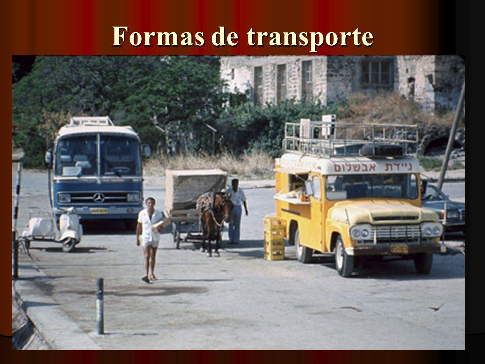 Formas de transporte