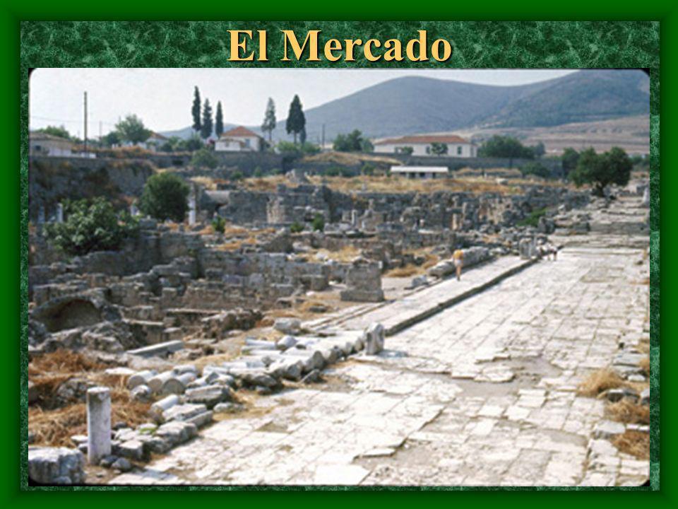 Ciudades grandes fueron colocadas cerca de una montaña. Eso permitió observar por enemigos.