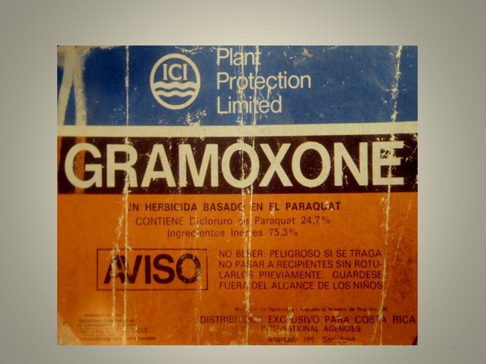 50 Ingesta paracuat (Gramoxone)