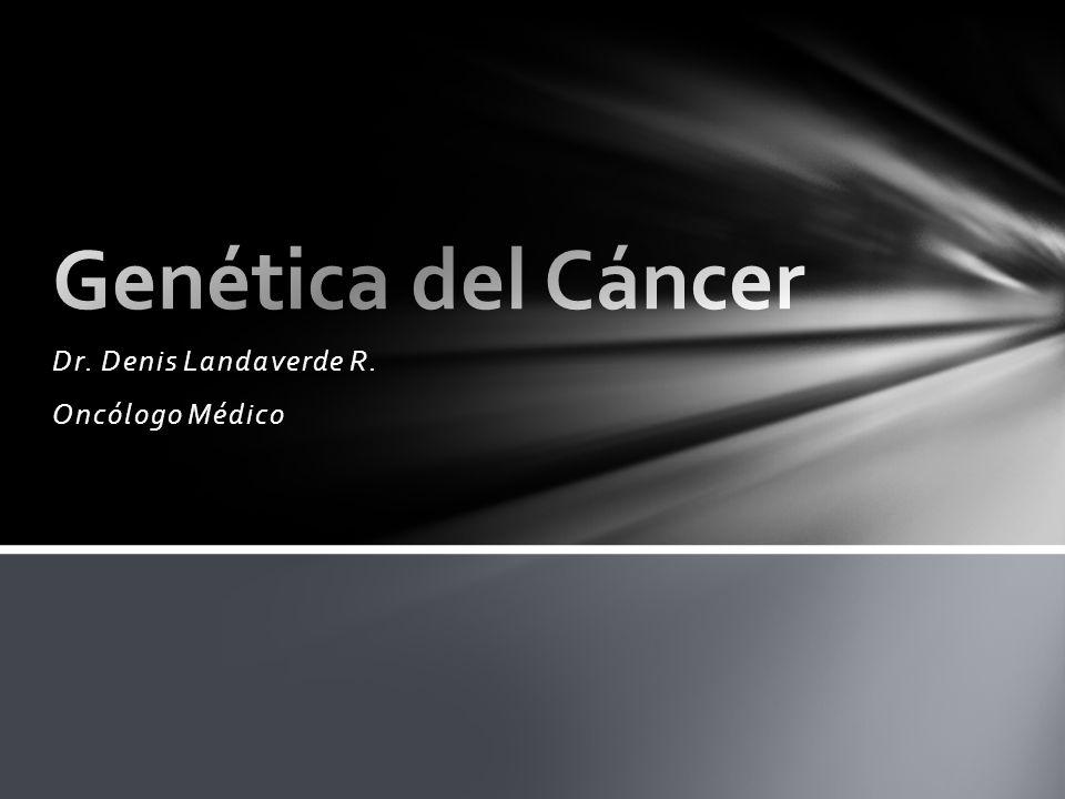 Las personas con mutaciones hereditarias tienen una predisposición para ciertos cánceres.