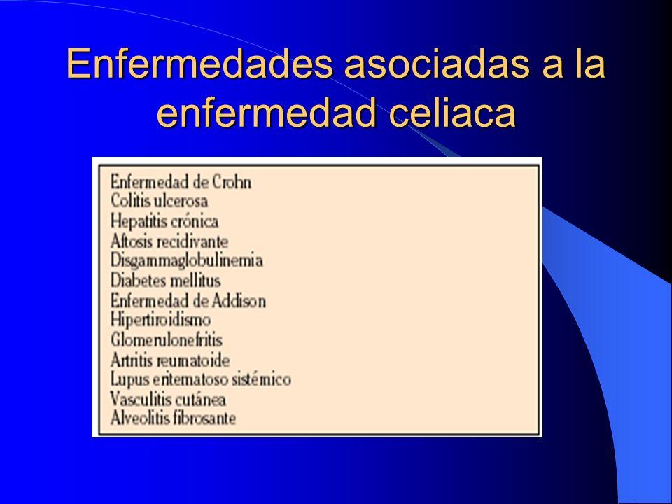 Enfermedades asociadas a la enfermedad celiaca