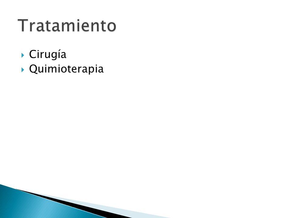 Cirugía Quimioterapia