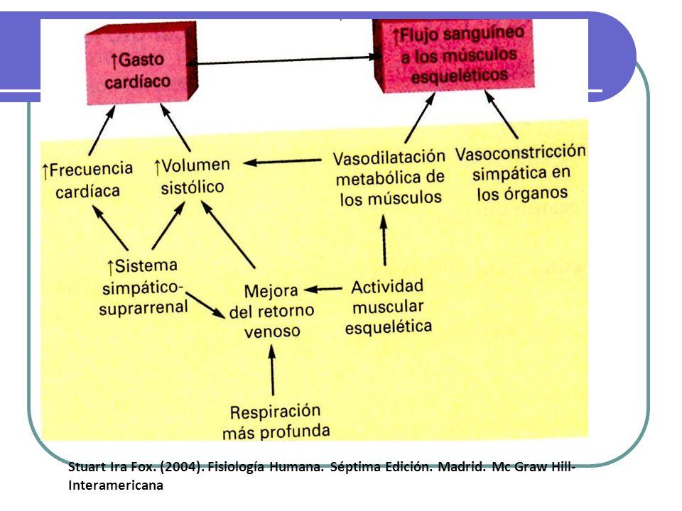 . Stuart Ira Fox. (2004). Fisiología Humana. Séptima Edición. Madrid. Mc Graw Hill- Interamericana