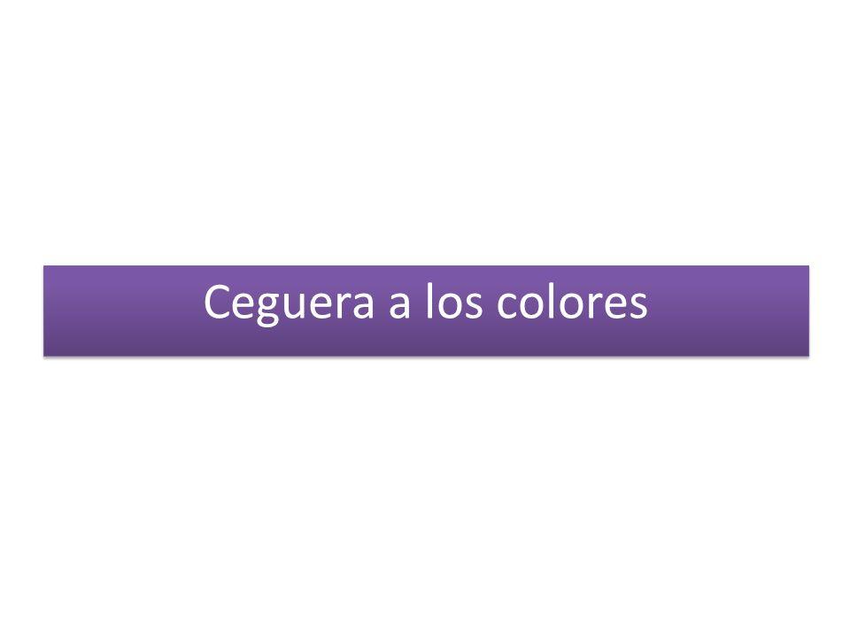 Ceguera a los colores