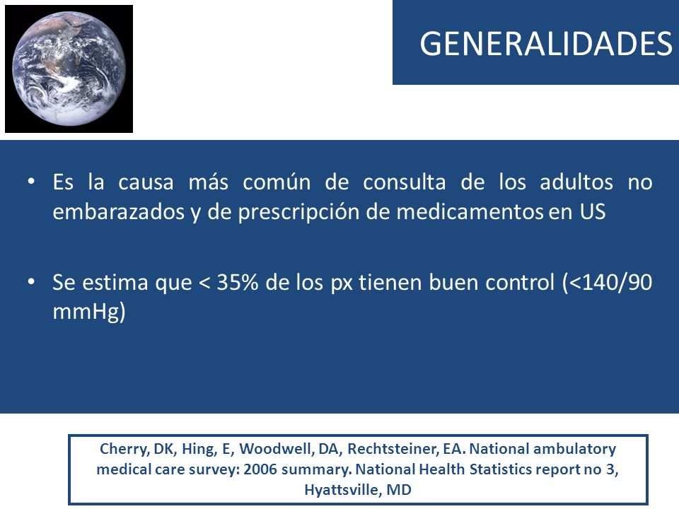 GENERALIDADES Es la causa más común de consulta de los adultos no embarazados y de prescripción de medicamentos en US Se estima que < 35% de los px ti