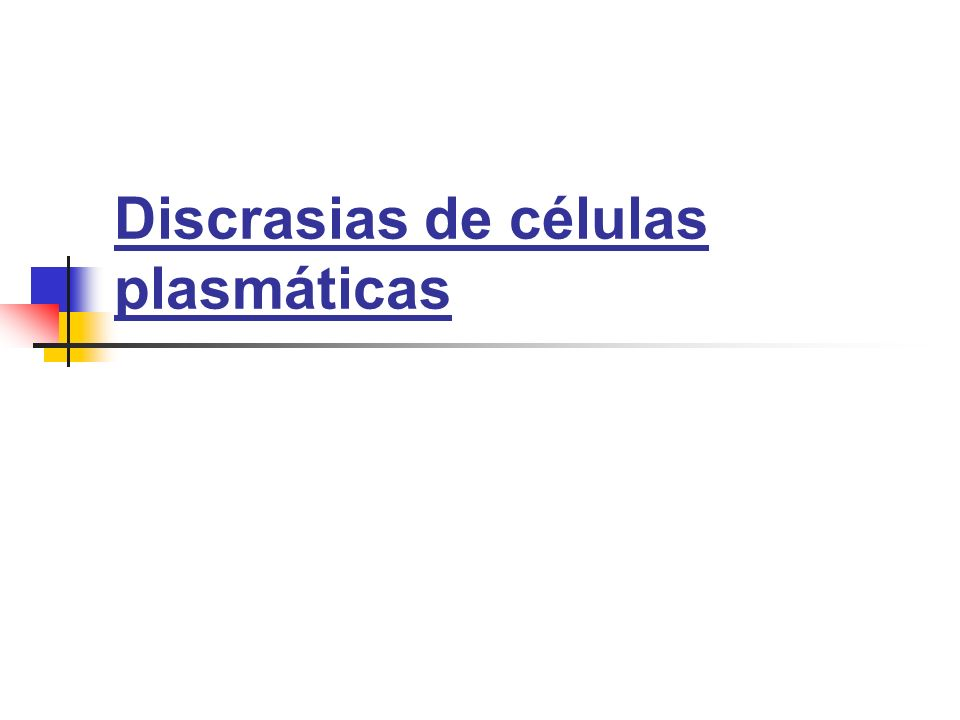 Expansión de un clón único de células secretoras de Igs.